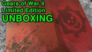 Gears of War 4 Xbox One S Unboxing - Limited Edition Bundle